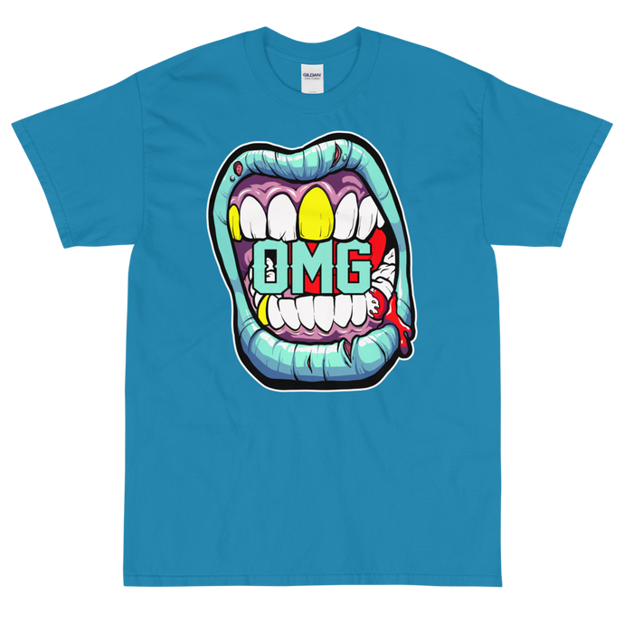 Big Mouth T-Shirt (Blue)