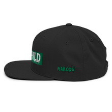 Load image into Gallery viewer, Madchild Narcos Snapback Hat (Black)