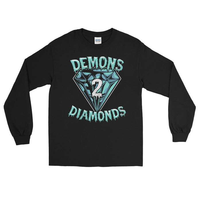 Demons 2 Diamonds Long Sleeve Shirt