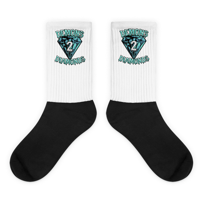 Demons 2 Diamonds Socks