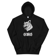 Load image into Gallery viewer, Lone Wolf Hoodie (Black/White)