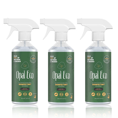 All-Purpose Antibacterial Disinfectant - 3x 500ml