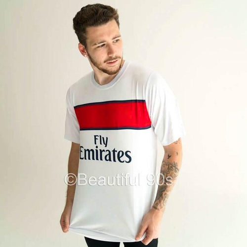 2012-13 Paris Short Sleeve away retro replica football shirt