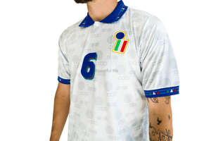 1994 World Cup Italy away replica retro football shirt