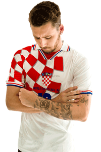 1998 Croatia World Cup Home white replica retro football shirt