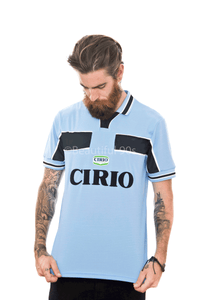 1999-2000 Lazio Nedved Veron home replica retro football shirt