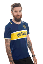 Load image into Gallery viewer, 1997 Boca Quilmes home retro replica football shirt