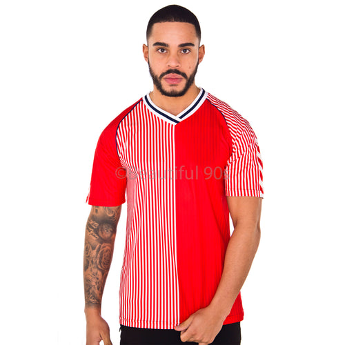 1986 Denmark retro replica retro football shirt