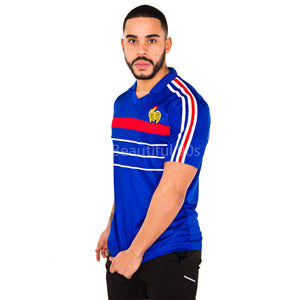 1984 France home replica retro football shirt