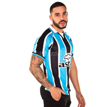 Load image into Gallery viewer, 2000-2001 Grêmio home replica retro football shirt