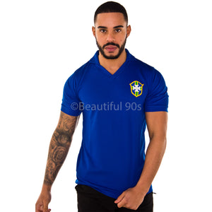 1957 Brazil Away replica football shirt