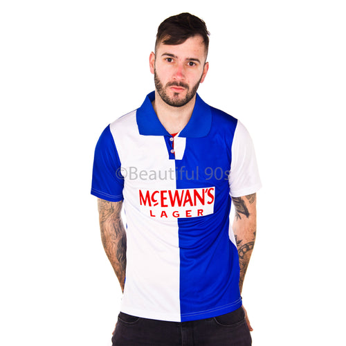 1994-1995 Shearer Blackburn replica retro football shirt