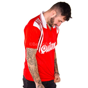 1995-1996 Riverplate away red replica retro football shirt