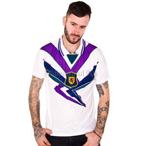 1994-1996 Scotland away replica retro football shirt