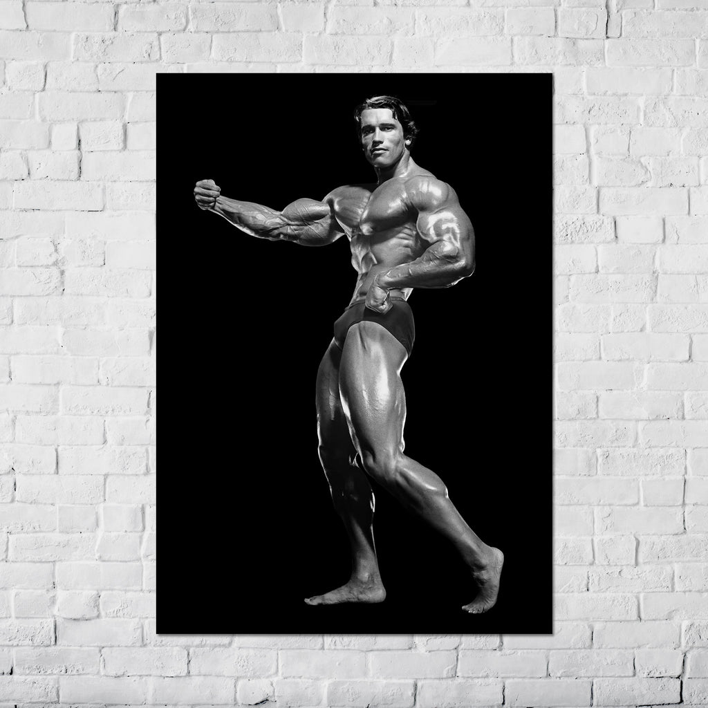 Arnold Schwarzenegger Freestyle Single Arm Pose Classic _ Poster