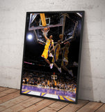 Kobe Bryant Lakers NBA Wall décor. - Framed poster