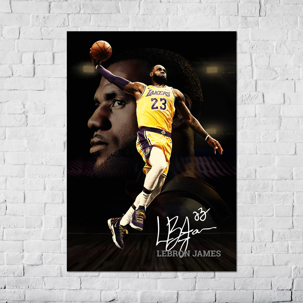 LeBron James NBA - Poster