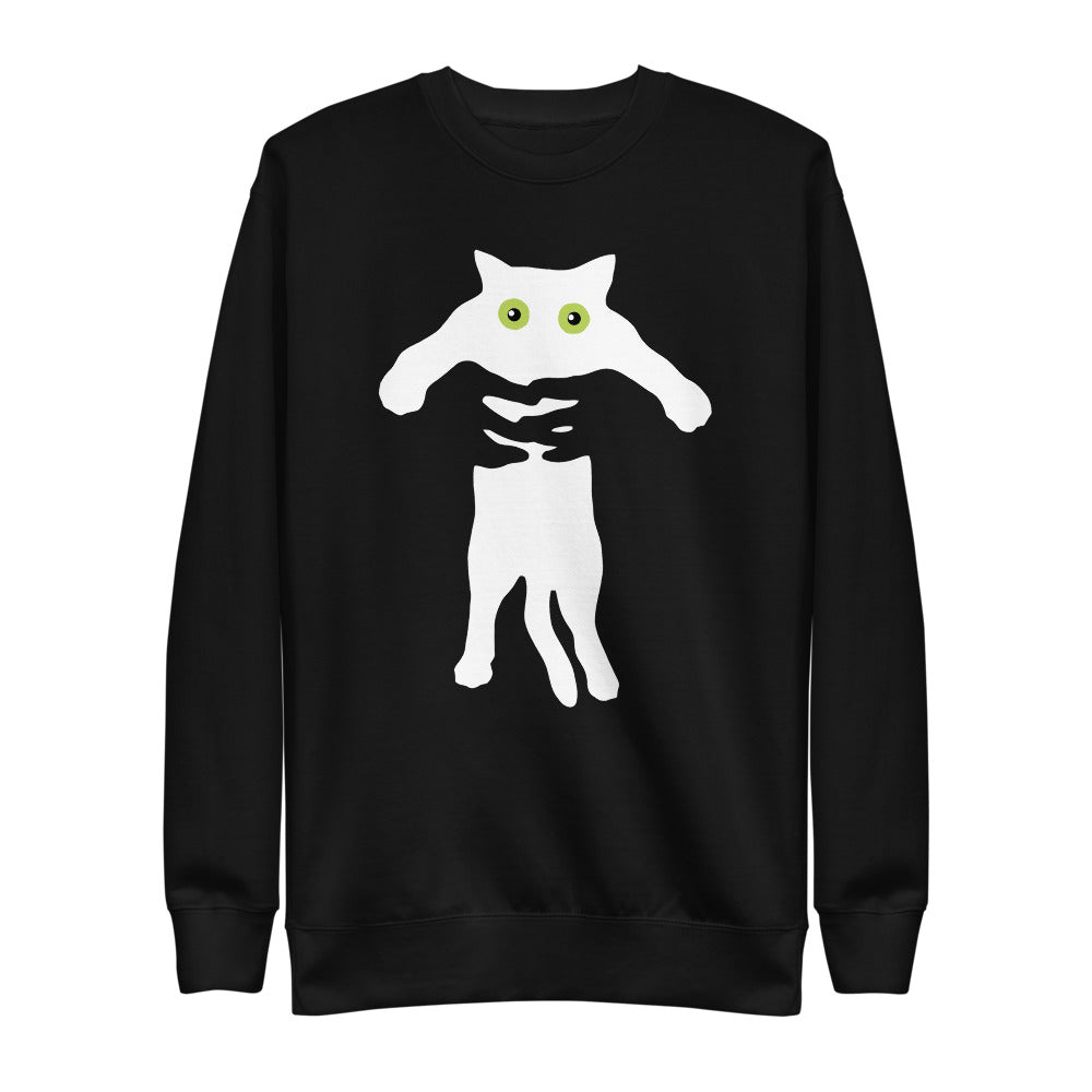 Cat silhouette | Fleece Pullover