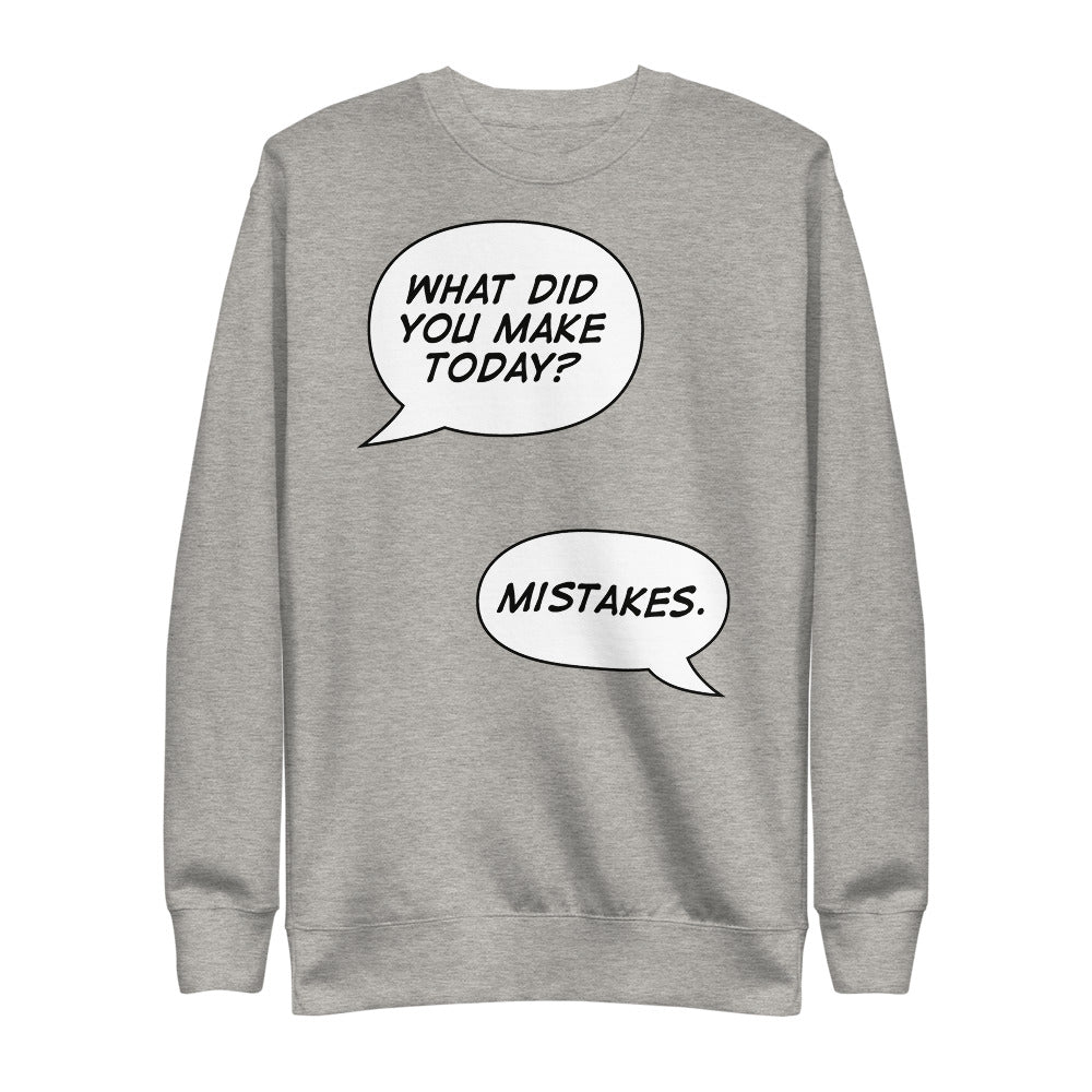 What did you make today | Fleece Pullover