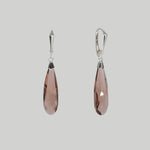 Load image into Gallery viewer, Swarovski Crystal Rain Drop Earrings