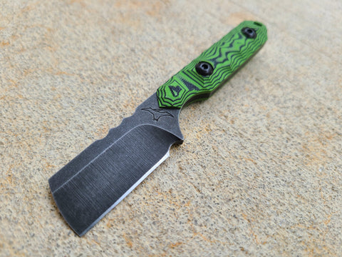 ZWEAR Mini Cleaver (Lime Green/Black Layered)