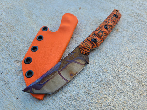 CRUWEAR American Samurai V2 (Orange/Black Layered - Galaxy)