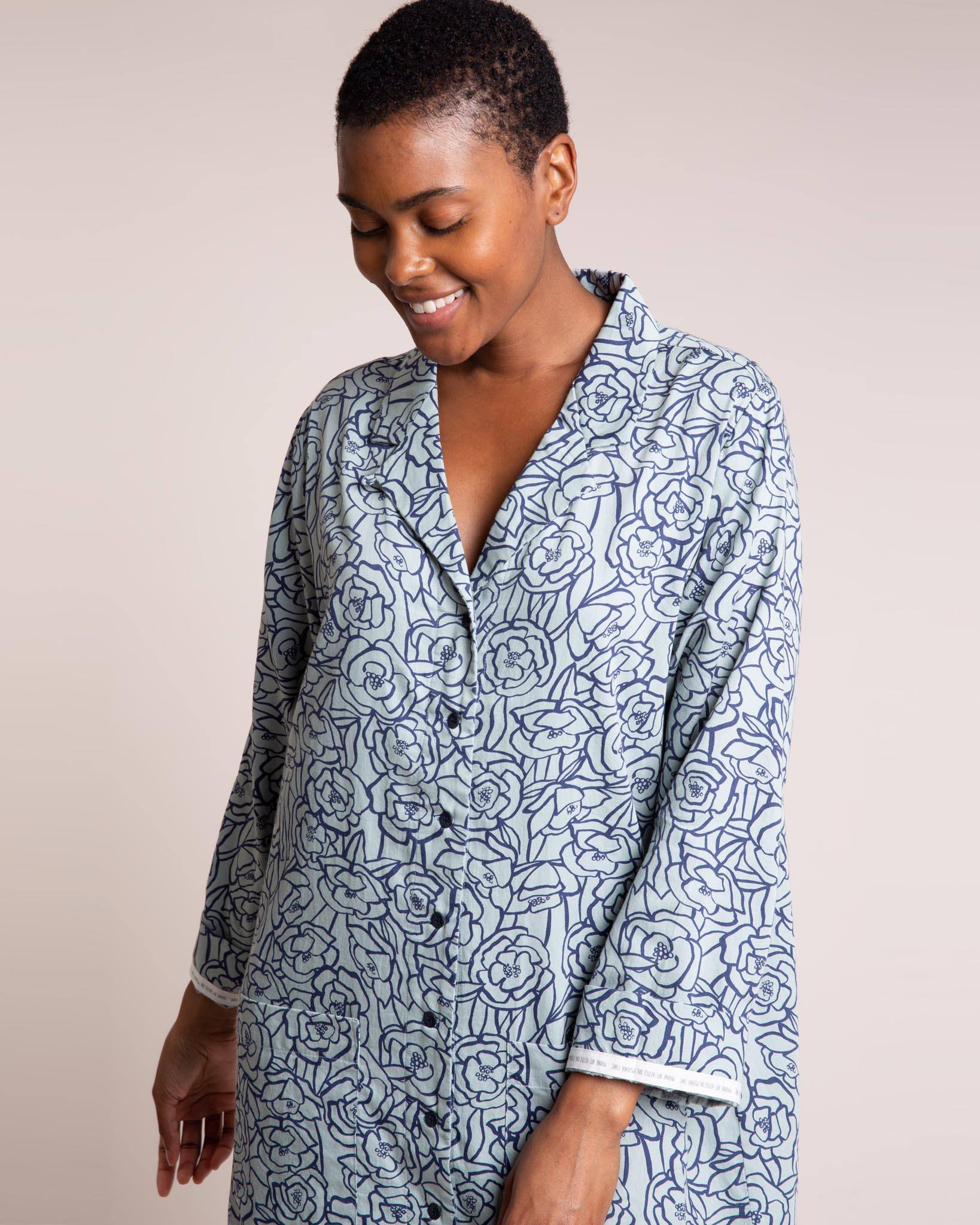 Bums and Roses Organic Nightshirt Nightshirts Yawn