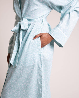 Drift Organic Cotton Robe Dressing Gowns Yawn
