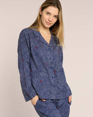 Float Away Organic Pyjama Set PJ Sets Yawn
