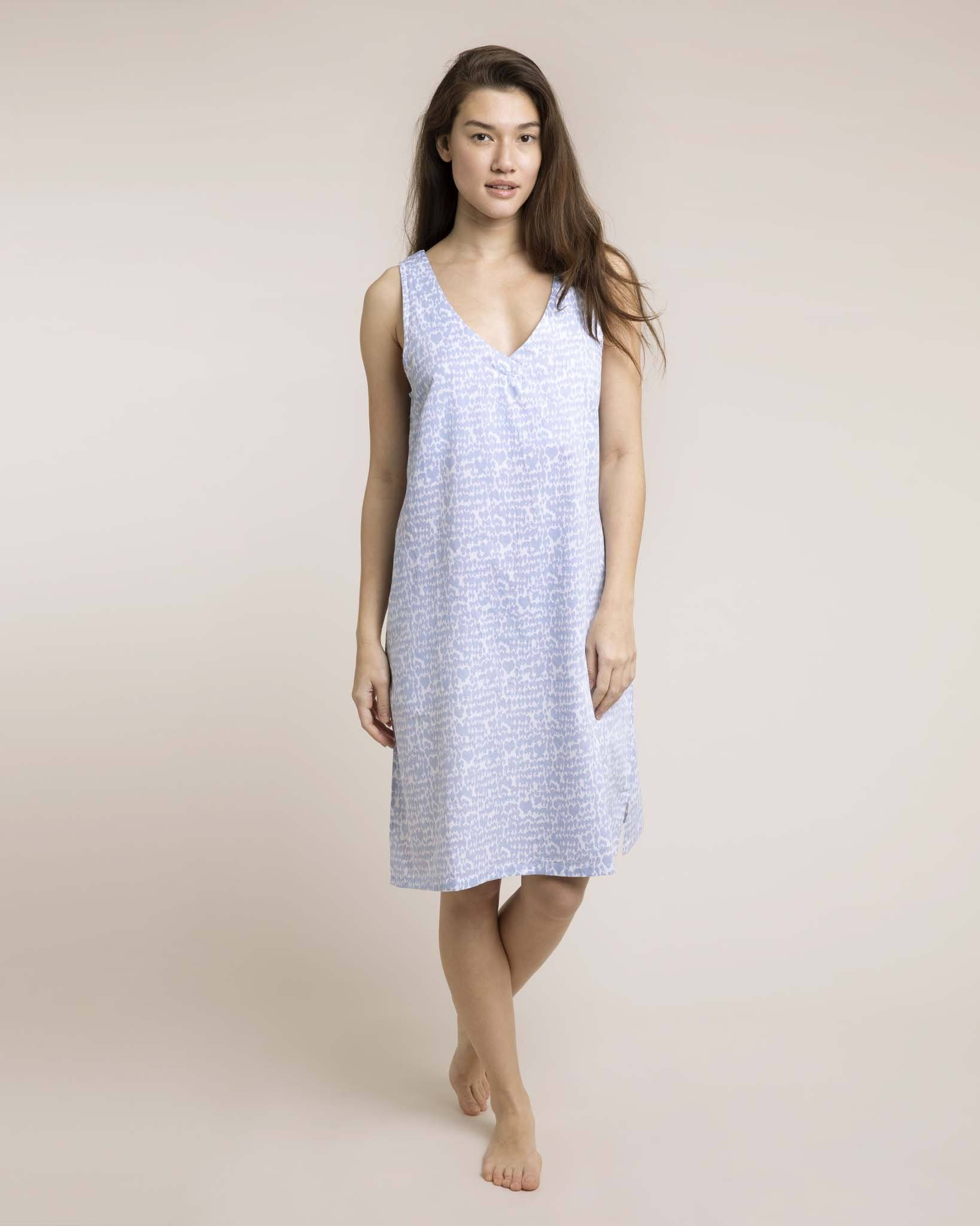 Lovebirds Organic Nightie Nightdress Yawn