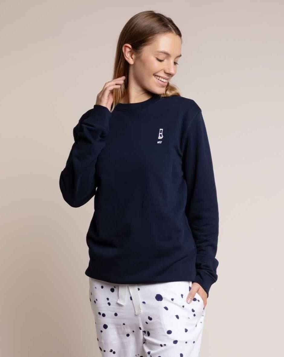 Navy Sweatshirt Tops Yawn
