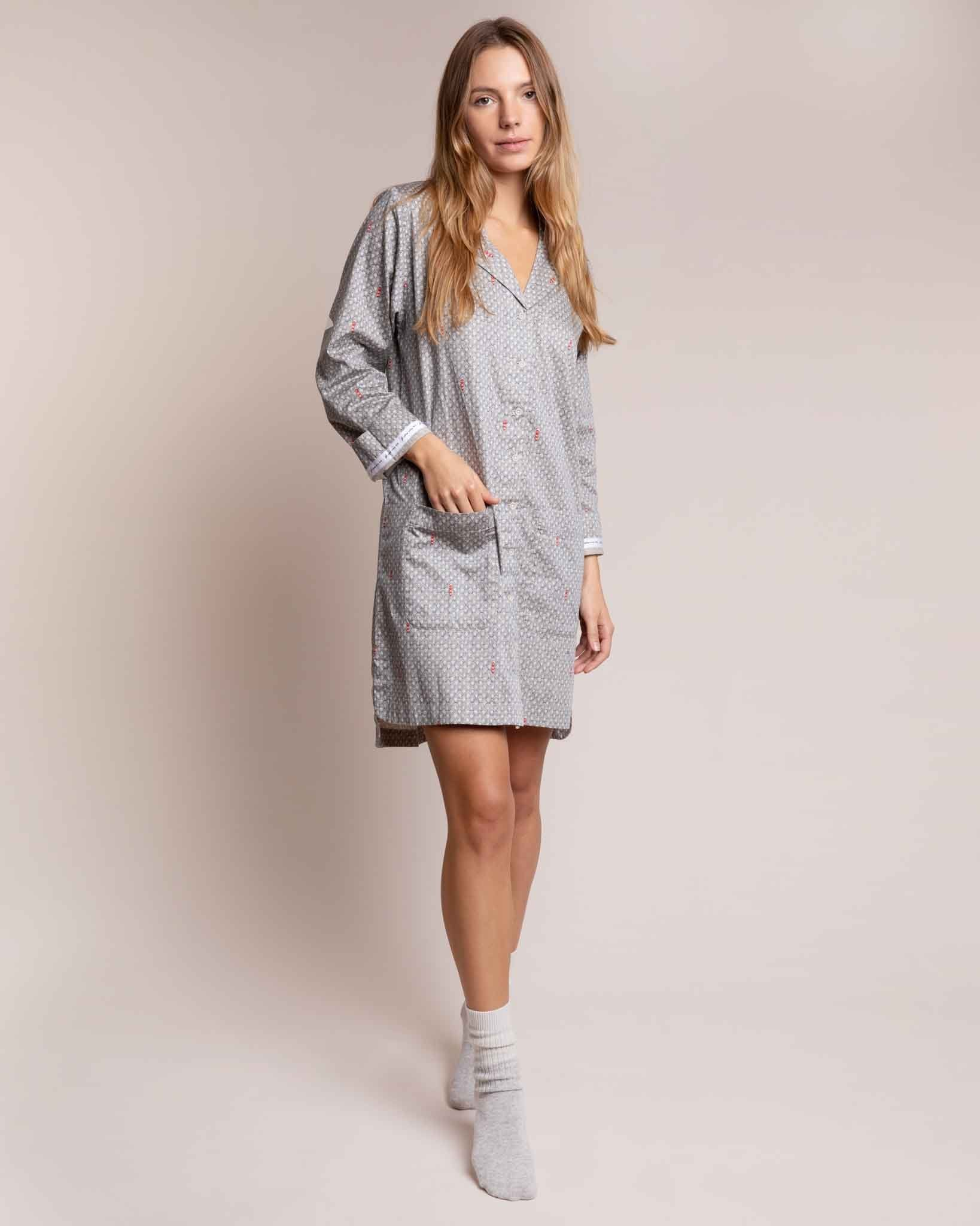 Port in a Storm Organic Nightshirt Nightshirts Yawn