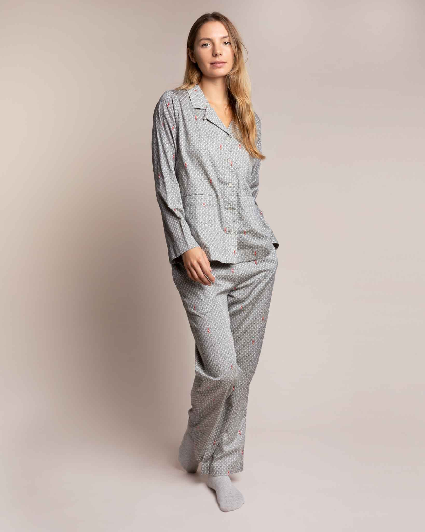 Port in a Storm Organic Pyjama Set PJ Sets Yawn