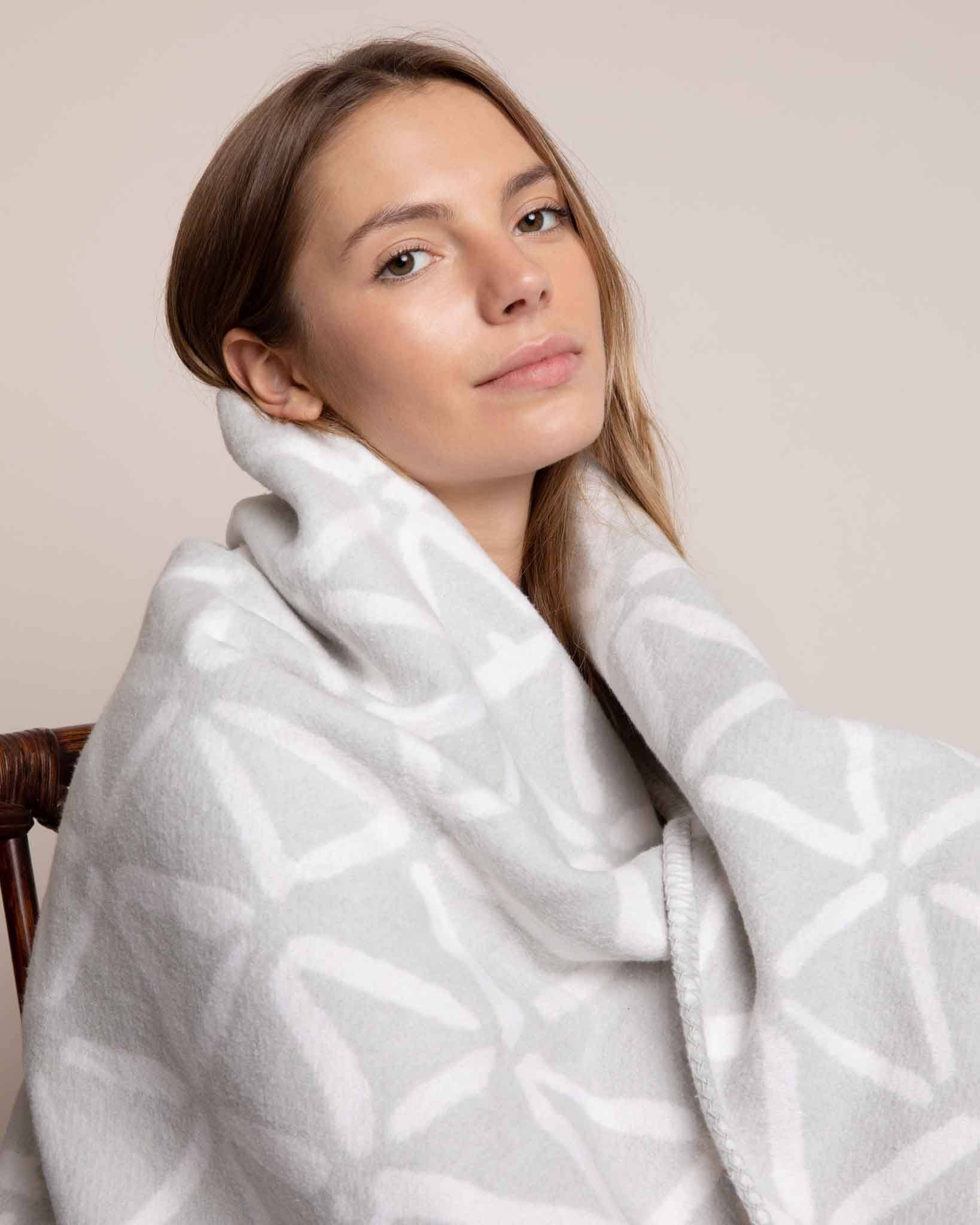 The Forever Blanket | Grey Blanket Yawn