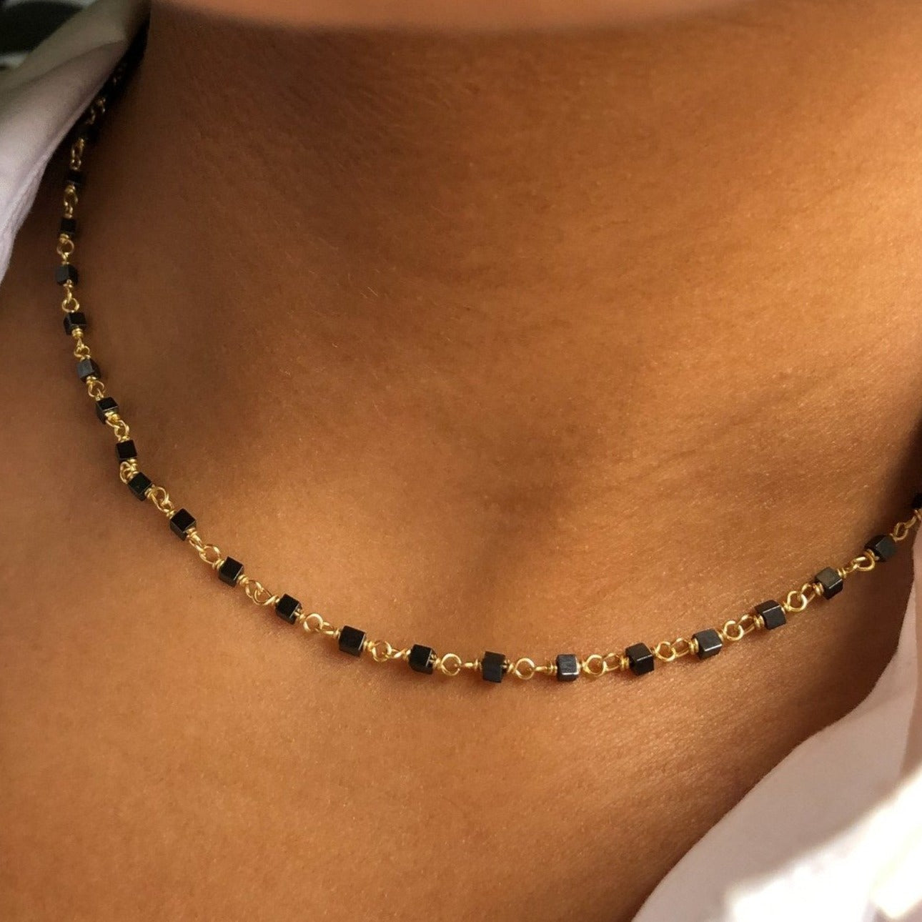 Beaded Wrap Chain