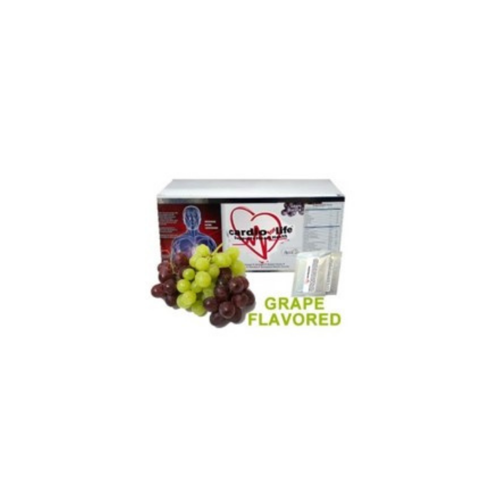 Cardio For Life Grape Flavour - Sachets