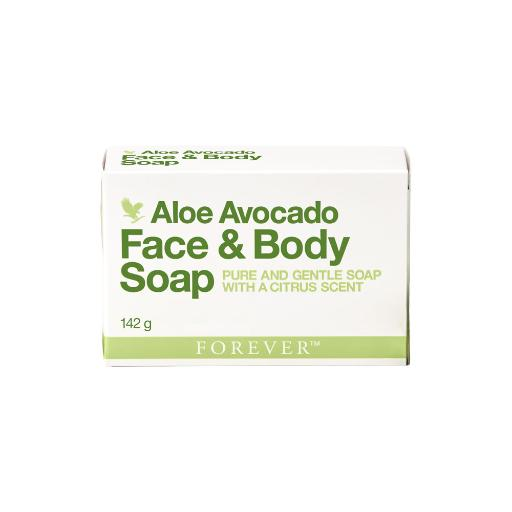 Forever Living Aloe Avocado Face & Body Soap