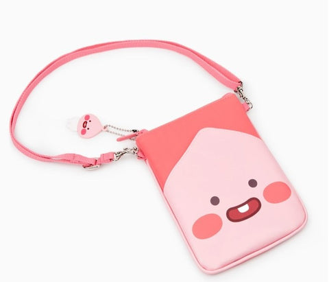 Kakao friends Mini Crossbody Cell Phone Purses Wallet Multiple Pockets and Zippers Small Crossbody Purse Bags for Kids