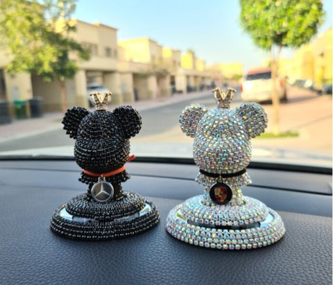 Cubic Bear Automotive Air freshener, Car Diffuser