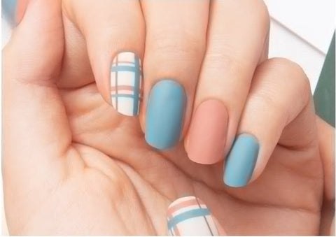Gel Nail Polish Strip Stickers - Mix and Check