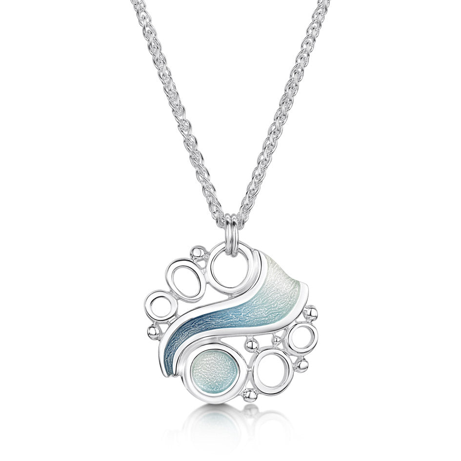 Artic Stream Pendant by Sheila Fleet