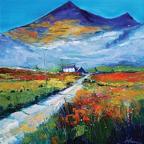 Ben More, Isle of Mull Card by Jolomo