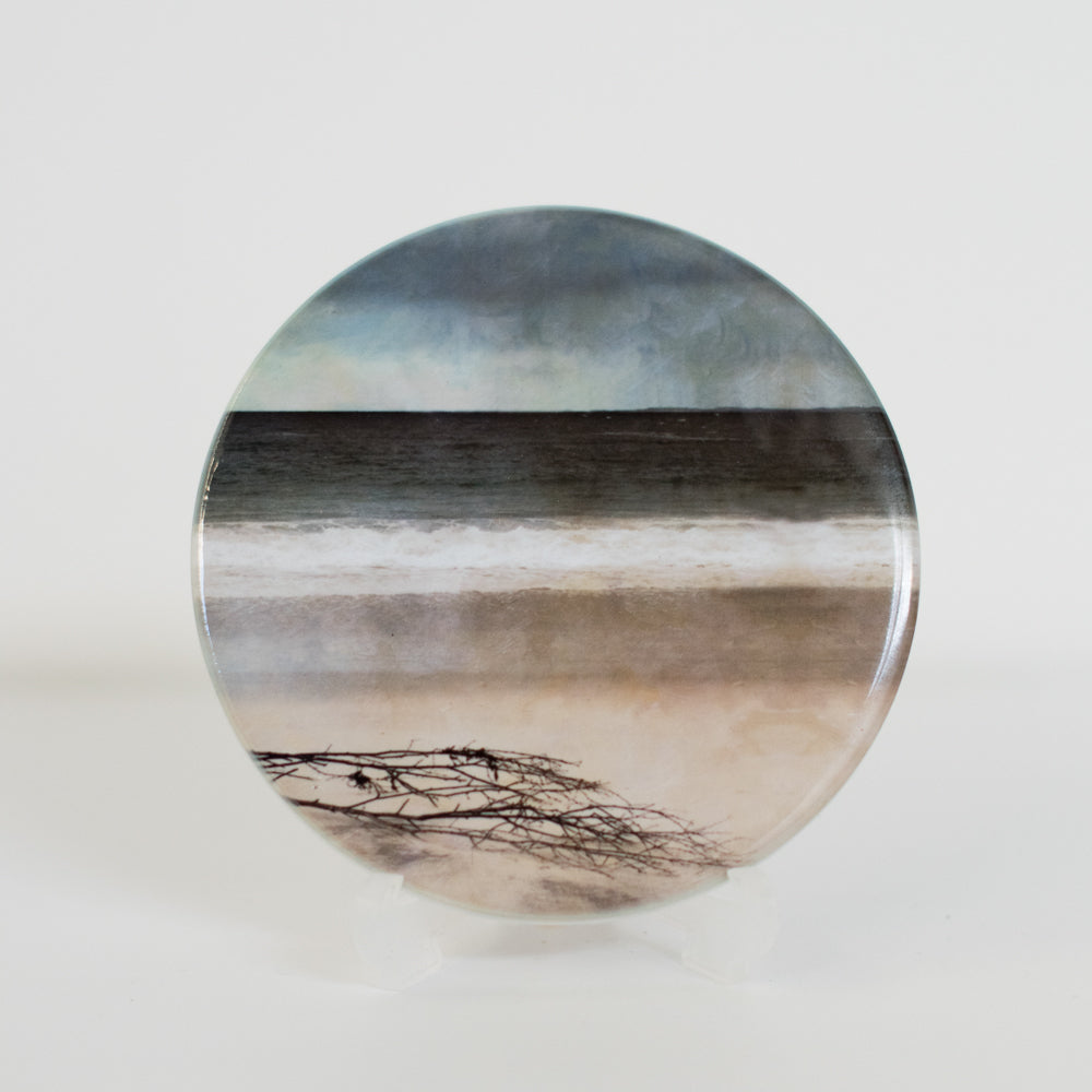 Driftword on Arisaig, Ceramic Coaster