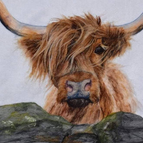 'Flora' Highland Cow Placemat