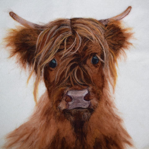 'Handsome Harry' Highland Cow Placemat