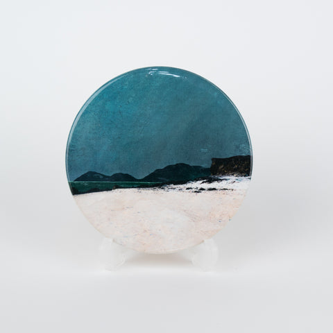Harris from Coral Beach, Isle of Skye Ceramic Coaster