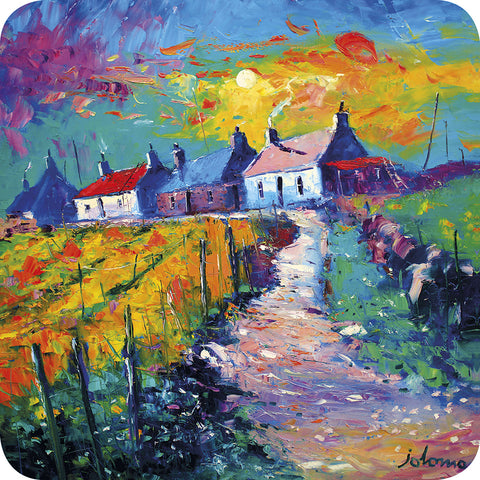 Isle of Lewis Cottages Coaster