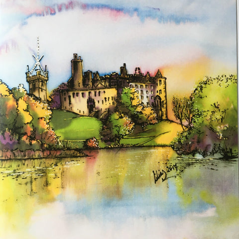 Linlithgow Palace Card