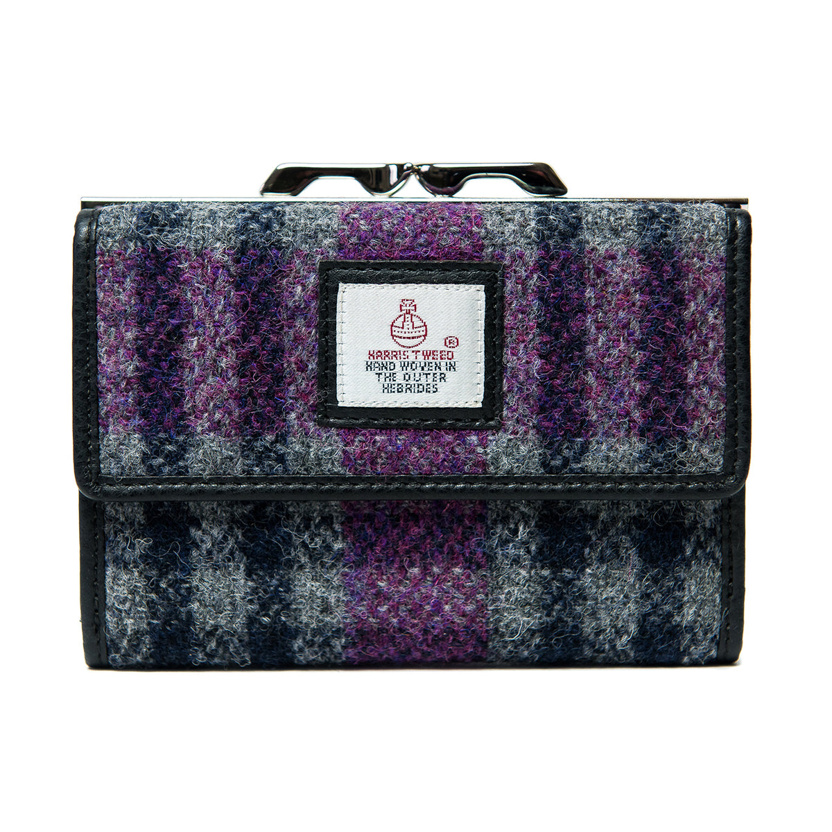 Medium Purse Purple check