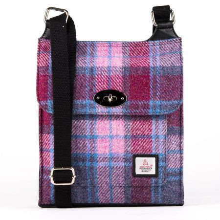 Satchel Pink Check